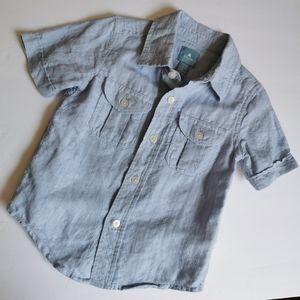 Baby Gap Button Down Shirt Short Sleeved